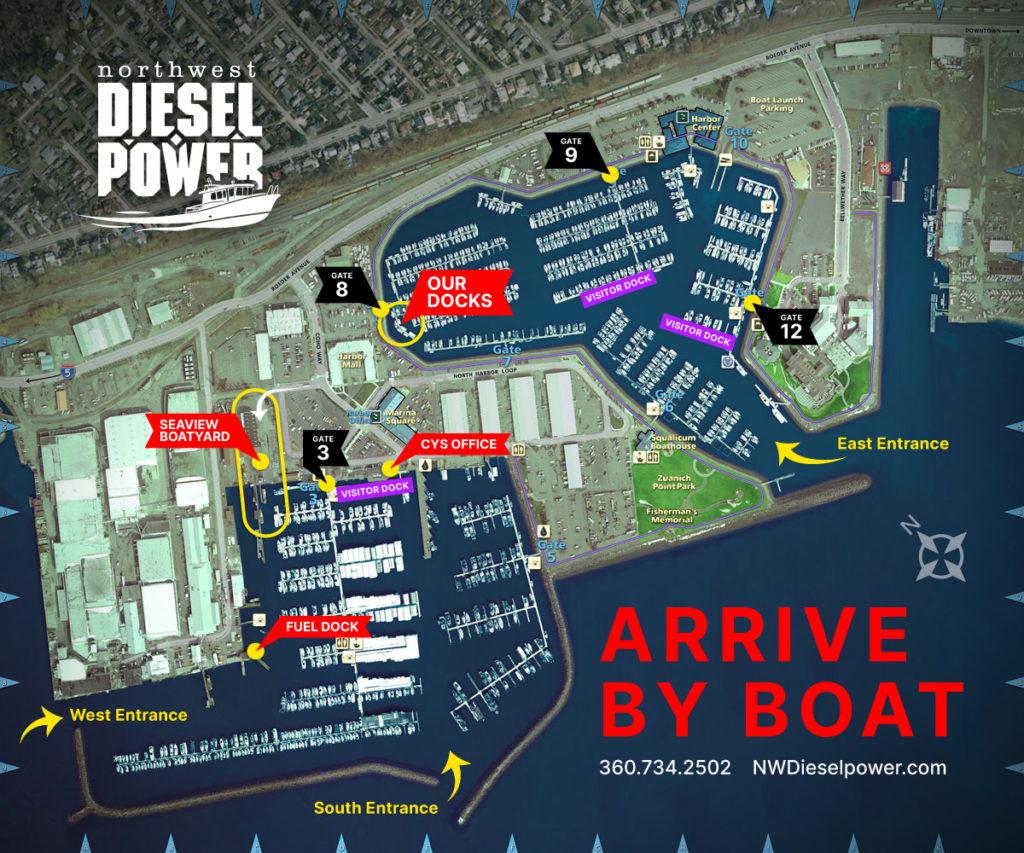 Arrive By Boat-Guide to Port of Bellingham Docks